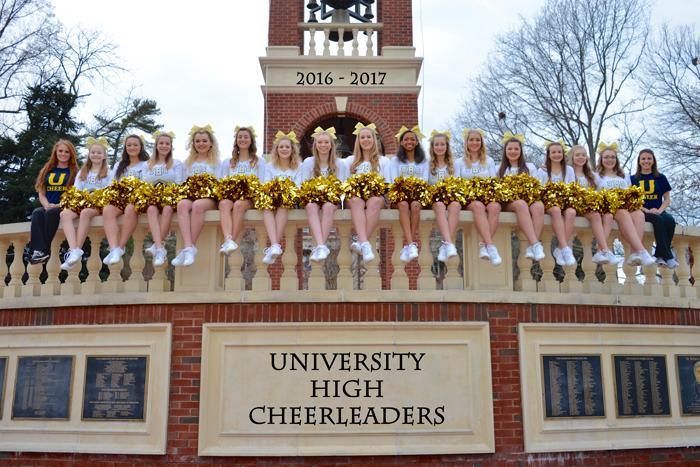 Cheerleaders 2016-2017