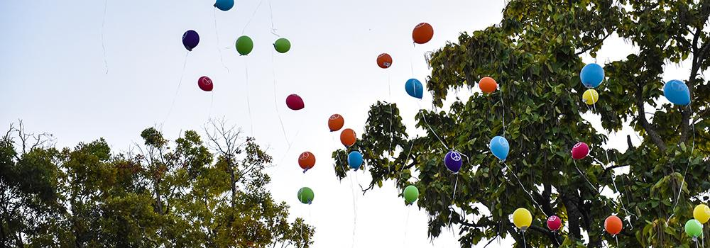 Peace Day Balloons