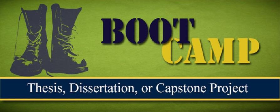 Thesis/Dissertation Boot Camp