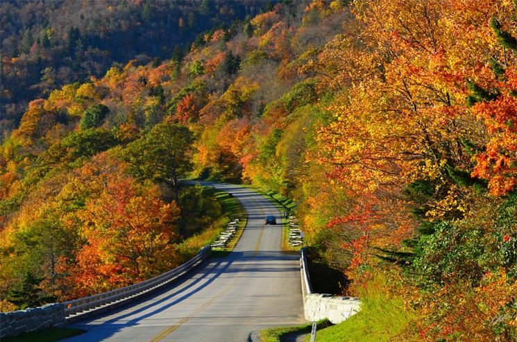 Blue Ridge Parkway, (Mile Marker 300) Linville