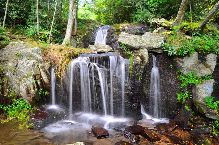 Waterfall Park, Newland