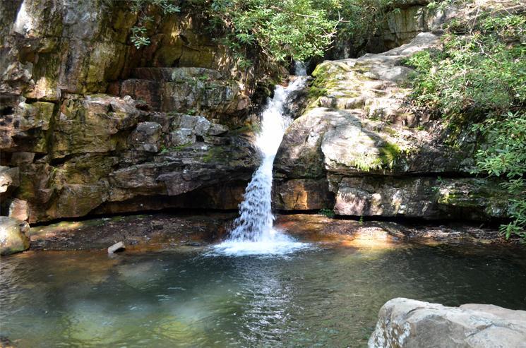 Blue Hole Falls, Elizabethton