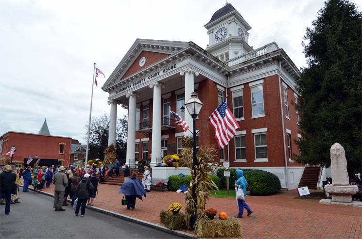 National Story Telling Festival, Jonesborough, oldest town in Tennessee