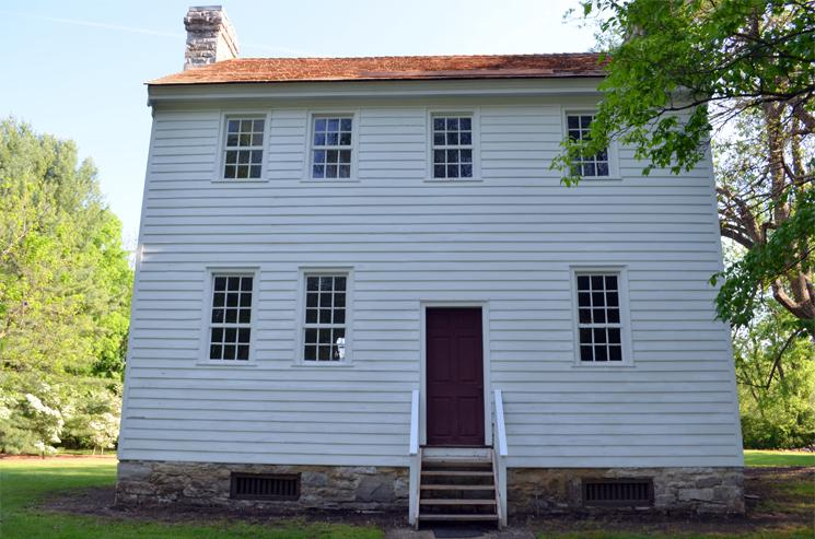 The Carter Mansion, the oldest frame house in Tennessee, construction began in 1775, Elizabethton