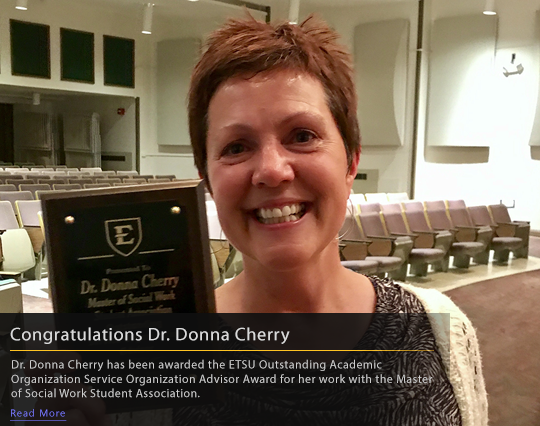 Congratulations Dr. Donna Cherry