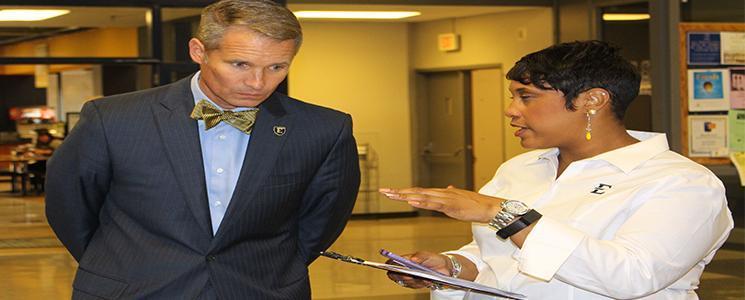 Dr. Noland and Carshonda Harris