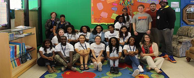 BEST Mentoring Boys & Girls Club community service