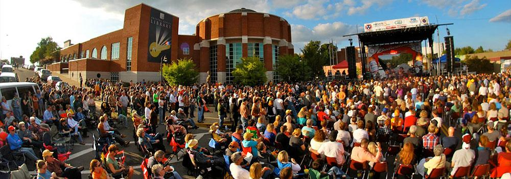 Bristol lives up to its name as the birthplace of country music. See live music all year long!