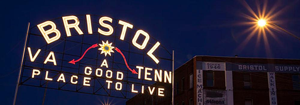 You can be in two places at once! Downtown Bristol falls on the Tennessee/Virginia state line.