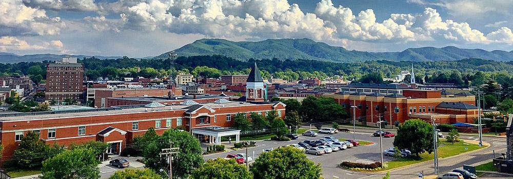 Johnson City is surrounded by beautiful rolling mountains - home sweet home!