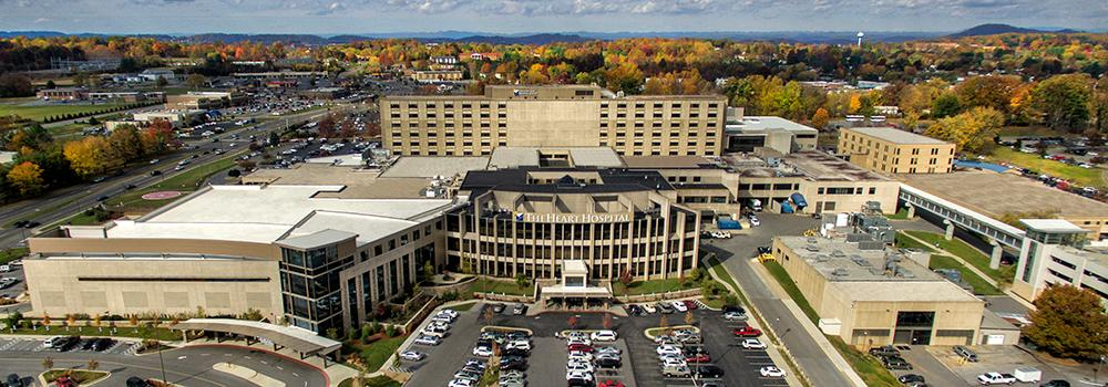 Johnson City Medical Center is a 445-bed hospital located near the Johnson City Family Medicine clinic