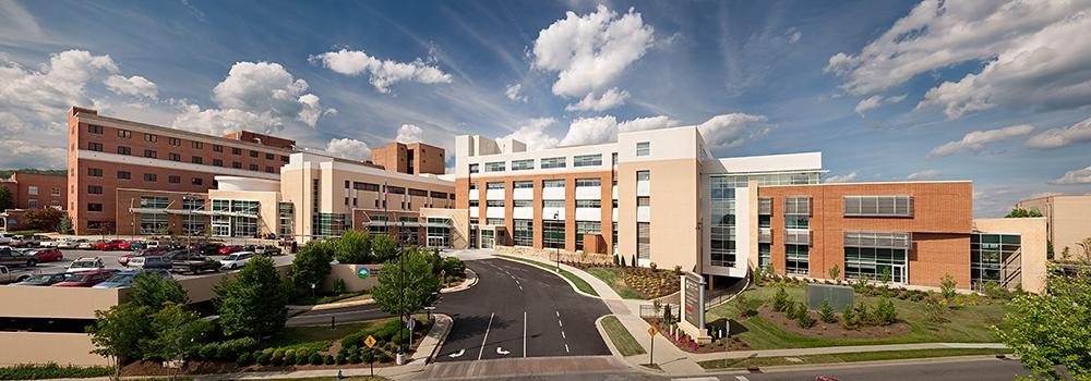 Holston Valley Medical Center is a 345-bed hospital located near the Kingsport Family Medicine Clinic.