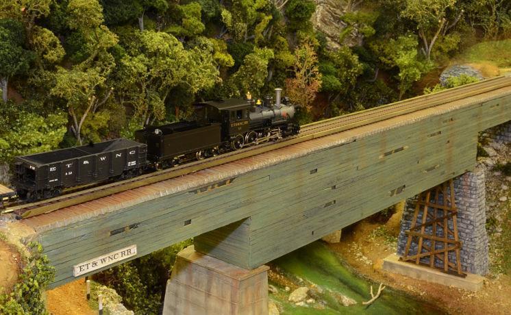 Tunnel Covered Deck Bridge