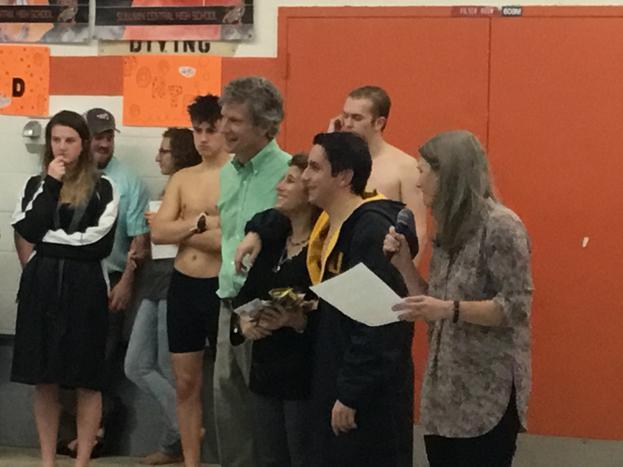 2017-2018 Swim Team
