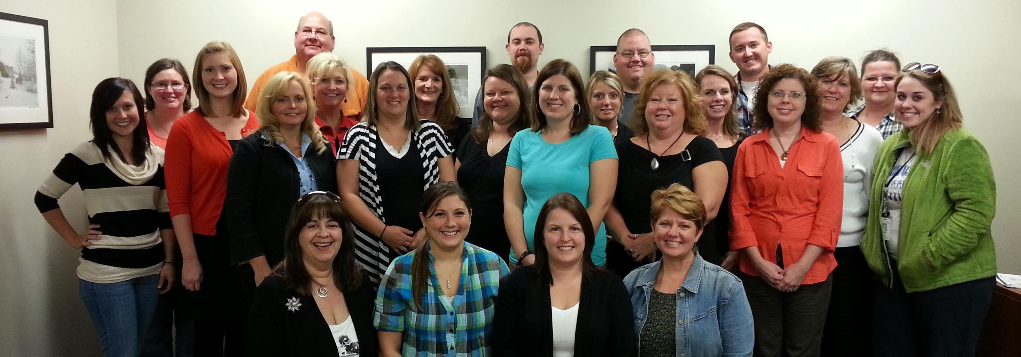 A group picture of a class of our Special Education graduates!