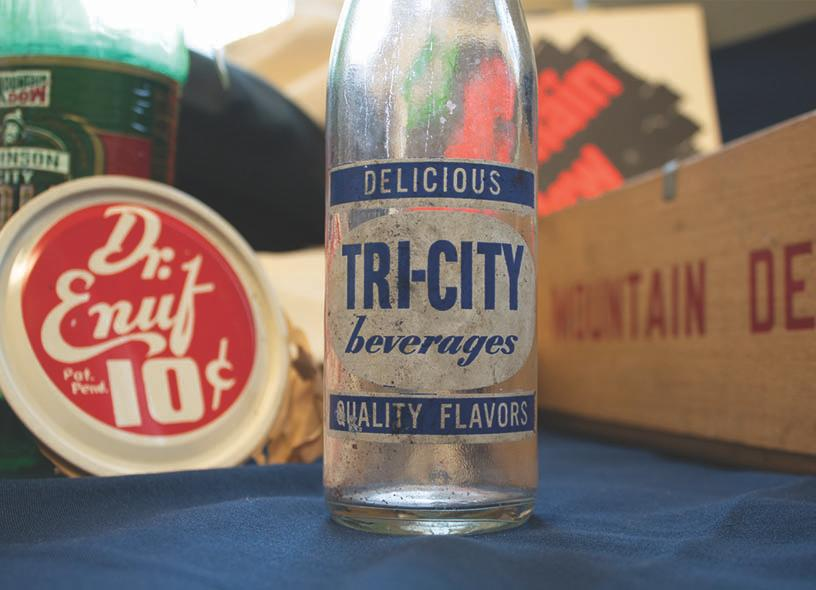 bottle and collectibles