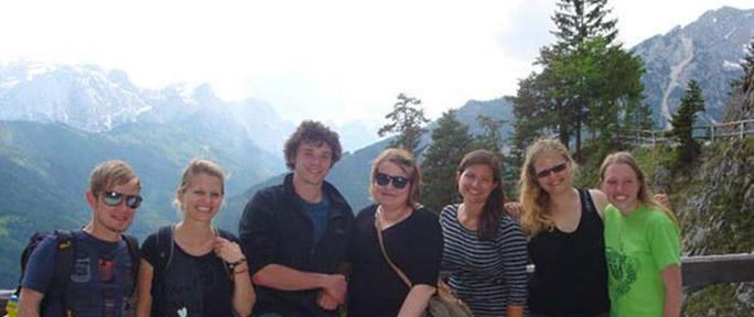 ETSU students study abroad in Austria