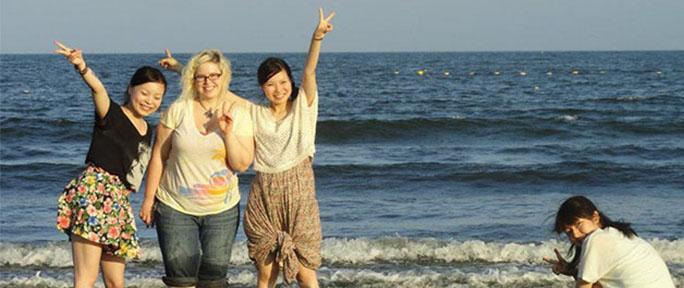 ETSU students study abroad in Japan