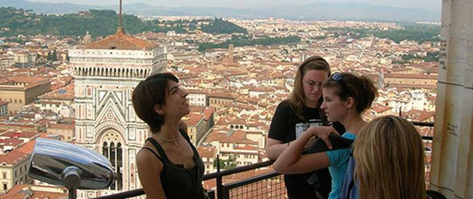 ETSU students study abroad in Italy