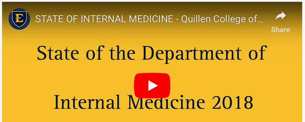 State of Internal Medicine 2018