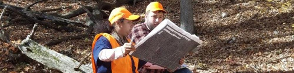 Undergraduate students are actively involved in research at Dept. of Geosciences.