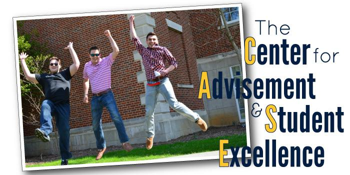 The Center for Advisement and Student Excellence