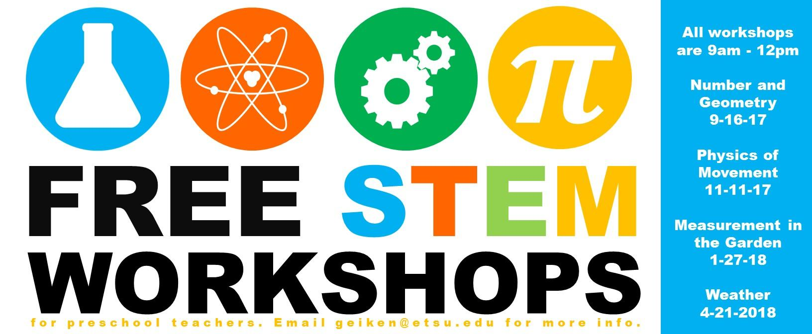 Free STEM workshops 