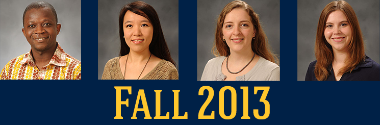 Fall 2013 Doctoral Students