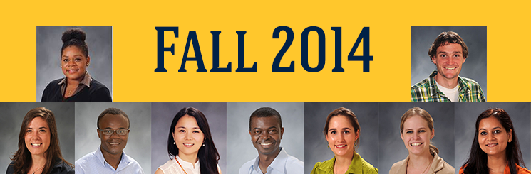 Fall 2014 Doctoral Students