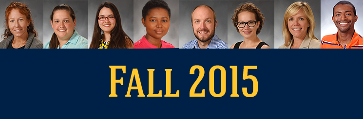 Fall 2015 Doctoral Students