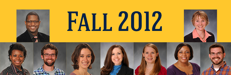 Fall 2012 Doctoral Students