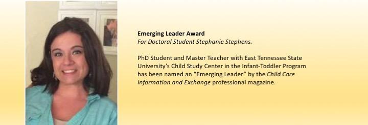 Doctoral Student Stephanie Stephanie Stephens honored