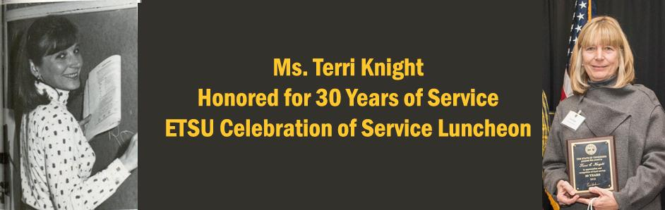 Ms. Knight Honored