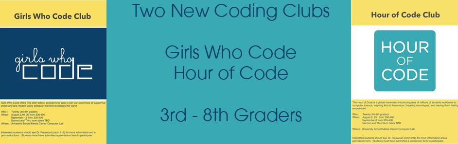 Coding Clubs