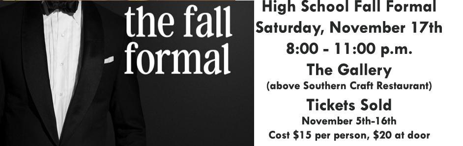 Fall Formal