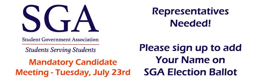 SGA Representatives Election