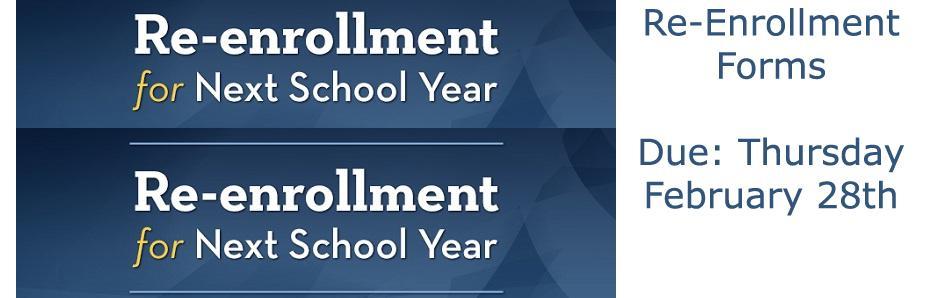 Re Enrollment Forms