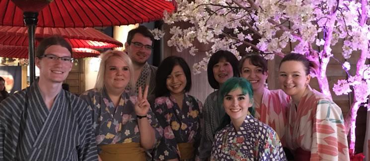 ETSU students in Japan