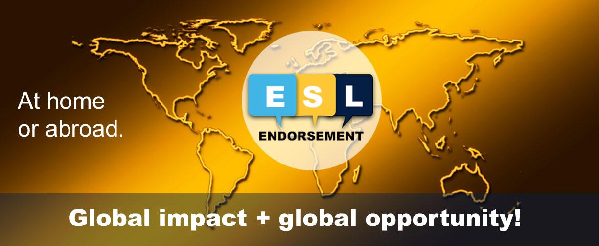 ESL Endorsement program