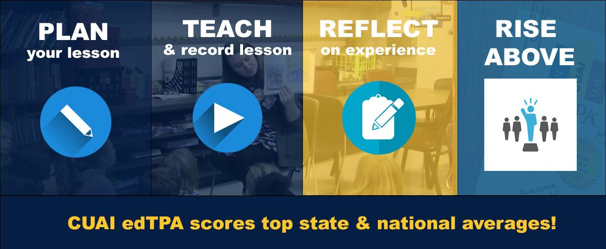 edTPA score graphic