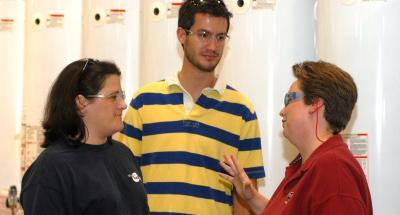 MBA students learn about Operations and Technology as they visit American Water Heater Division of A.O. Smith in Johnson City