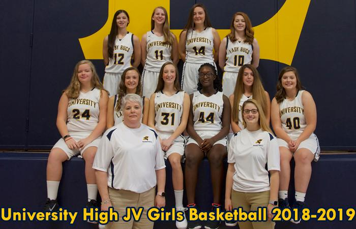 2018-2019 HS Girls JV Basketball
