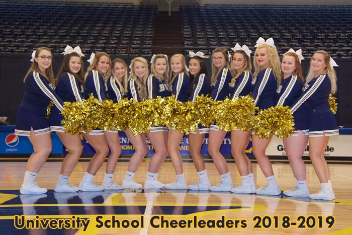 2018-2019 Cheerleaders