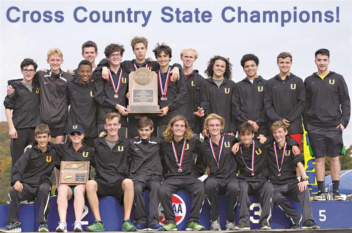 2017-2018 High School Boys Cross Country State Champs