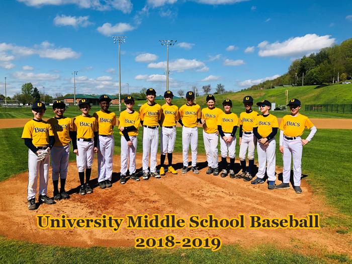 2018-2019 Middle School Baseball