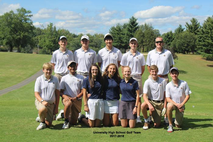 2017-2018 High School Golf Team