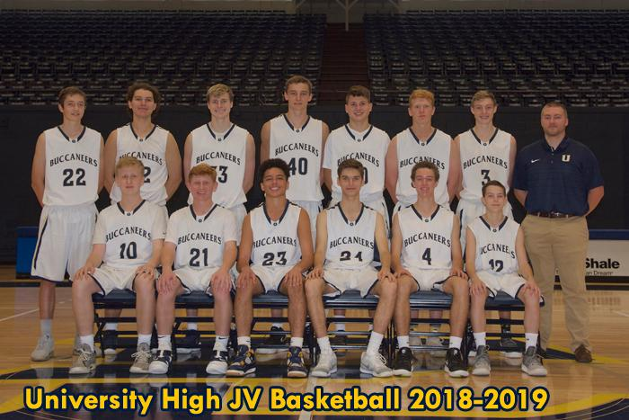 2018-2019 High School JV Boys Basketball