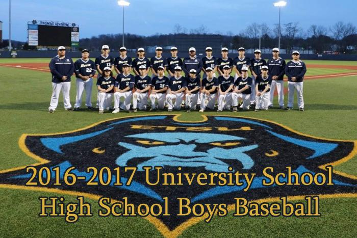 2016-2017 High School Boys Baseball