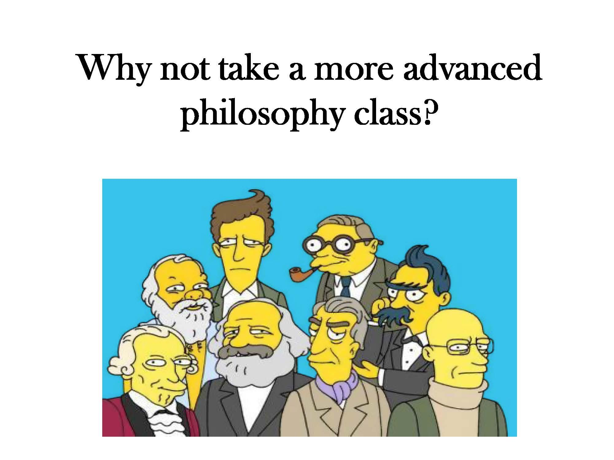 Why not take an advanced class?