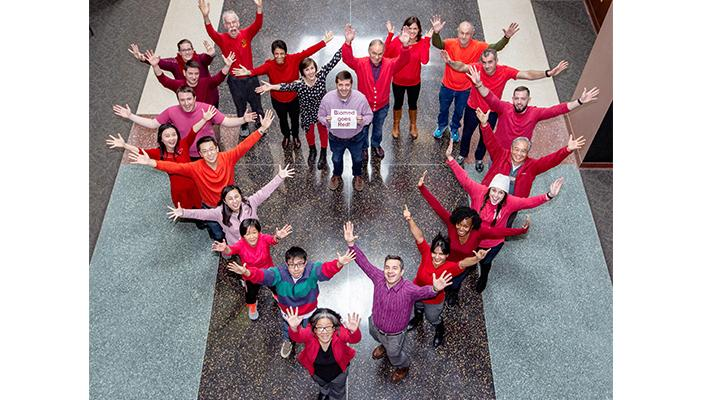 Quillen's Biomed 'goes red' for heart health